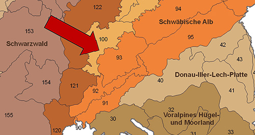 Schwäbische Alb Karte Städte.Hohe Schwabenalb Leo Bw