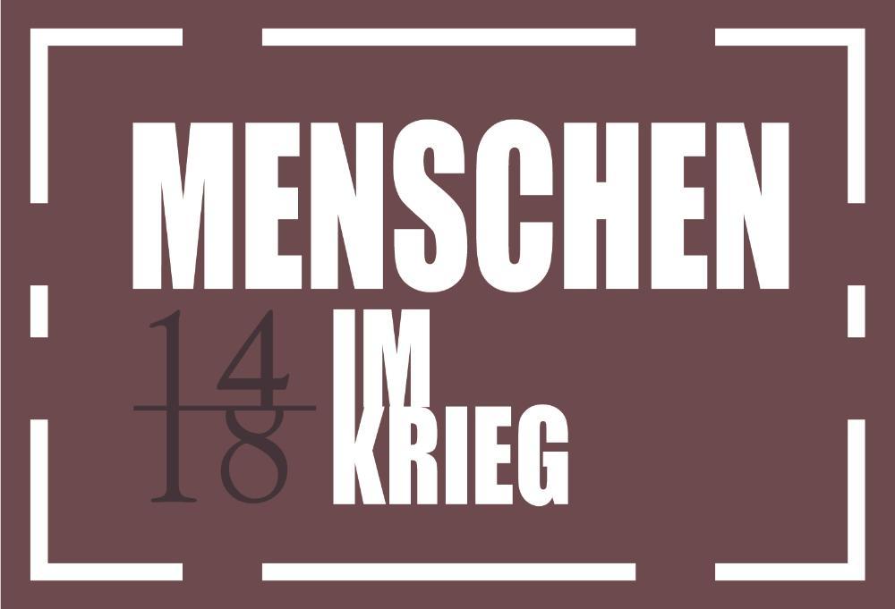 Logo Menschen im Krieg deutsch