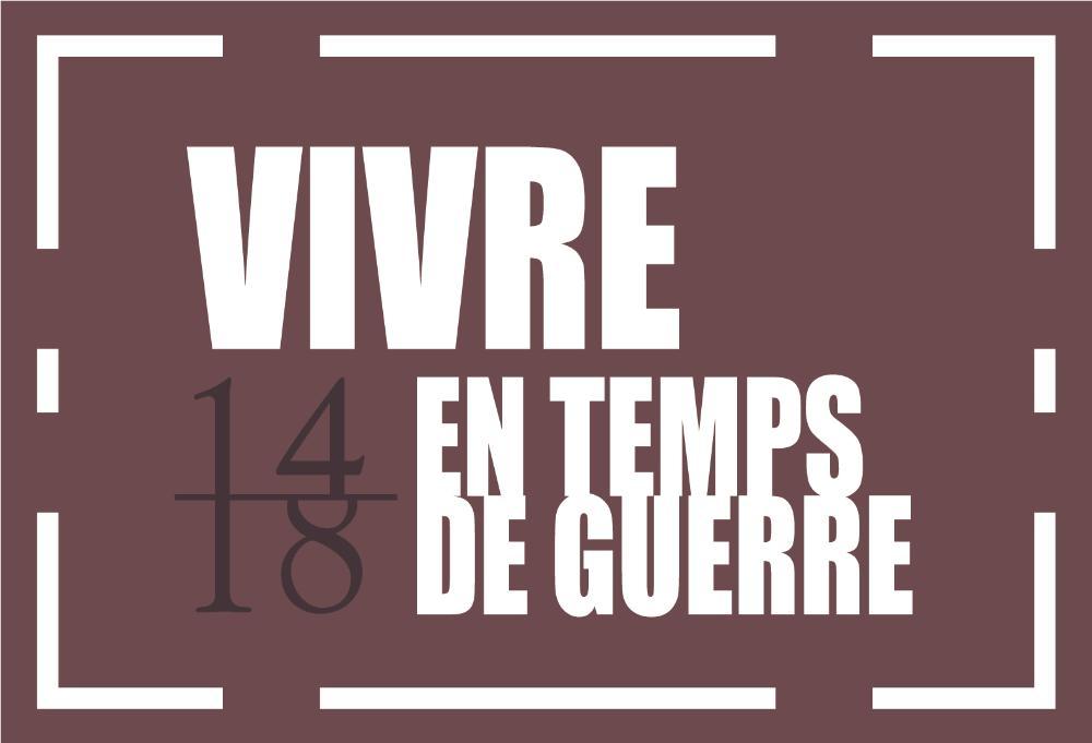 Logo Menschen im Krieg französisch