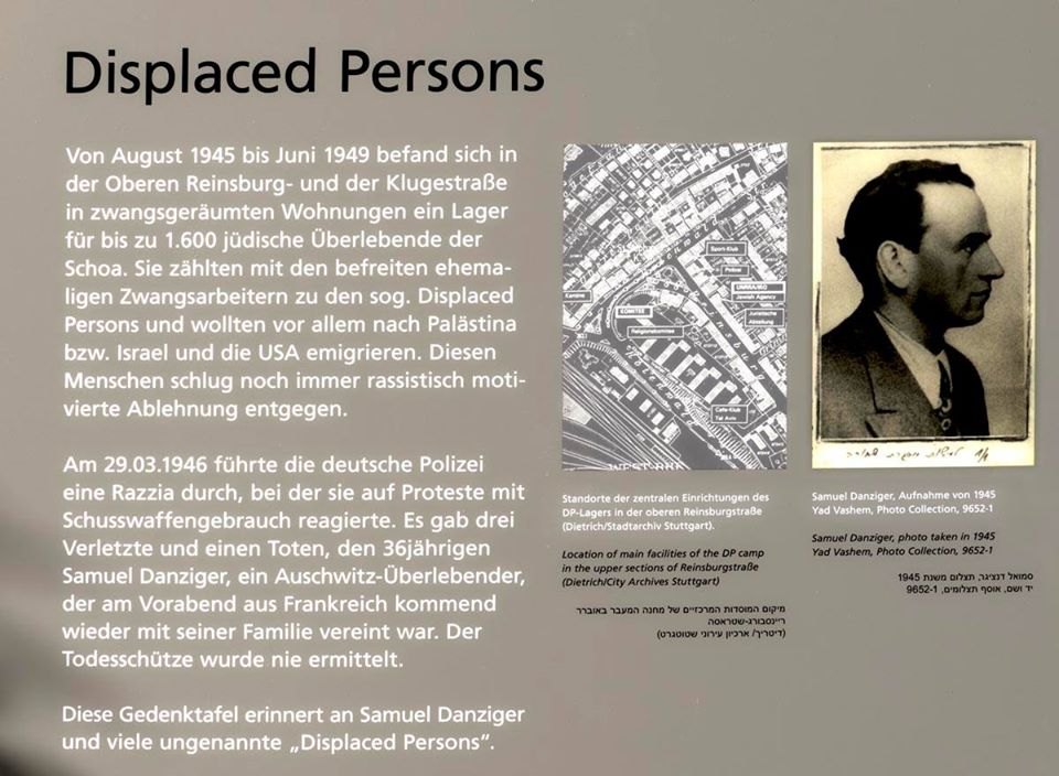 Displaced Persons in Stuttgart