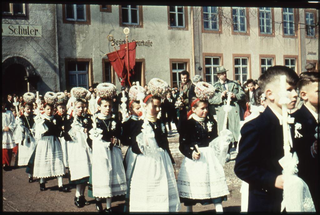 Fronleichnam in St. Peter, um 1958 [Quelle: Badisches Landesmuseum Karlsruhe]
