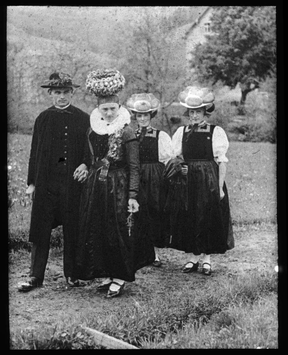 Gutacher Hochzeit, circa 1900-1940 [Quelle: Badisches Landesmuseum Karlsruhe]