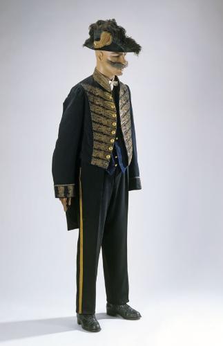 Uniform: Frack eines Kammerherren, vor 1918 [Copyright: Badisches Landesmuseum Karlsruhe]