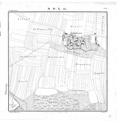 Kartenblatt NO X 81 Stand 1830 - Detailseite - LEO-BW
