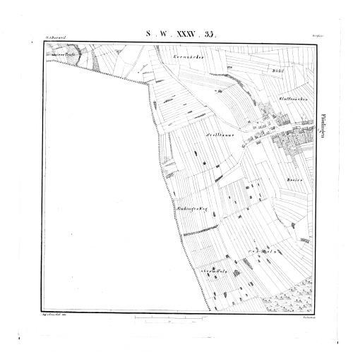 Kartenblatt SW XXXV 35 Stand 1838 - Detailseite - LEO-BW