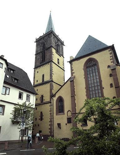 Stiftskirche in Wertheim.