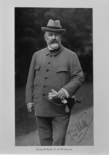 Jagdanzug König Wilhelms II., 1908 [Quelle: Landesmuseum Württemberg]