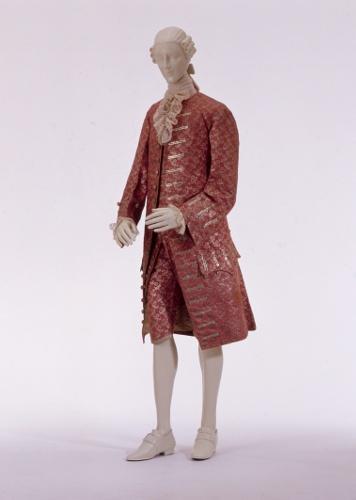 Herrenanzug - Habit à la française, um 1760-1765 [Quelle: Landesmuseum Württemberg]