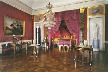 Ludwigsburg Schloss Schlafzimmer der Königin 1819 - Detailseite - LEO-BW