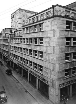 Stuttgart Mittnachtbau In Der Oberen Königstraße 1929 Detailseite