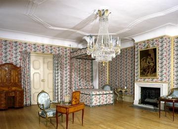 Schwetzingen Schloss Schlafzimmer im Appartement des Herzogs von ...