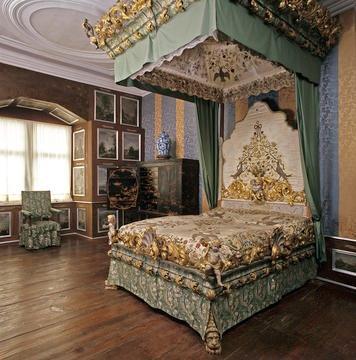 Weikersheim Schloss Schlafzimmer der Gräfin Raum 68 - Detailseite ...