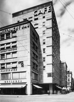 Stuttgart Mittnachtbau In Der Oberen Königstraße 1930 Detailseite