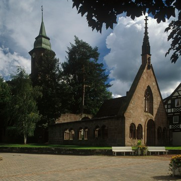 Bad Herrenalb: Klosterkirche 1995