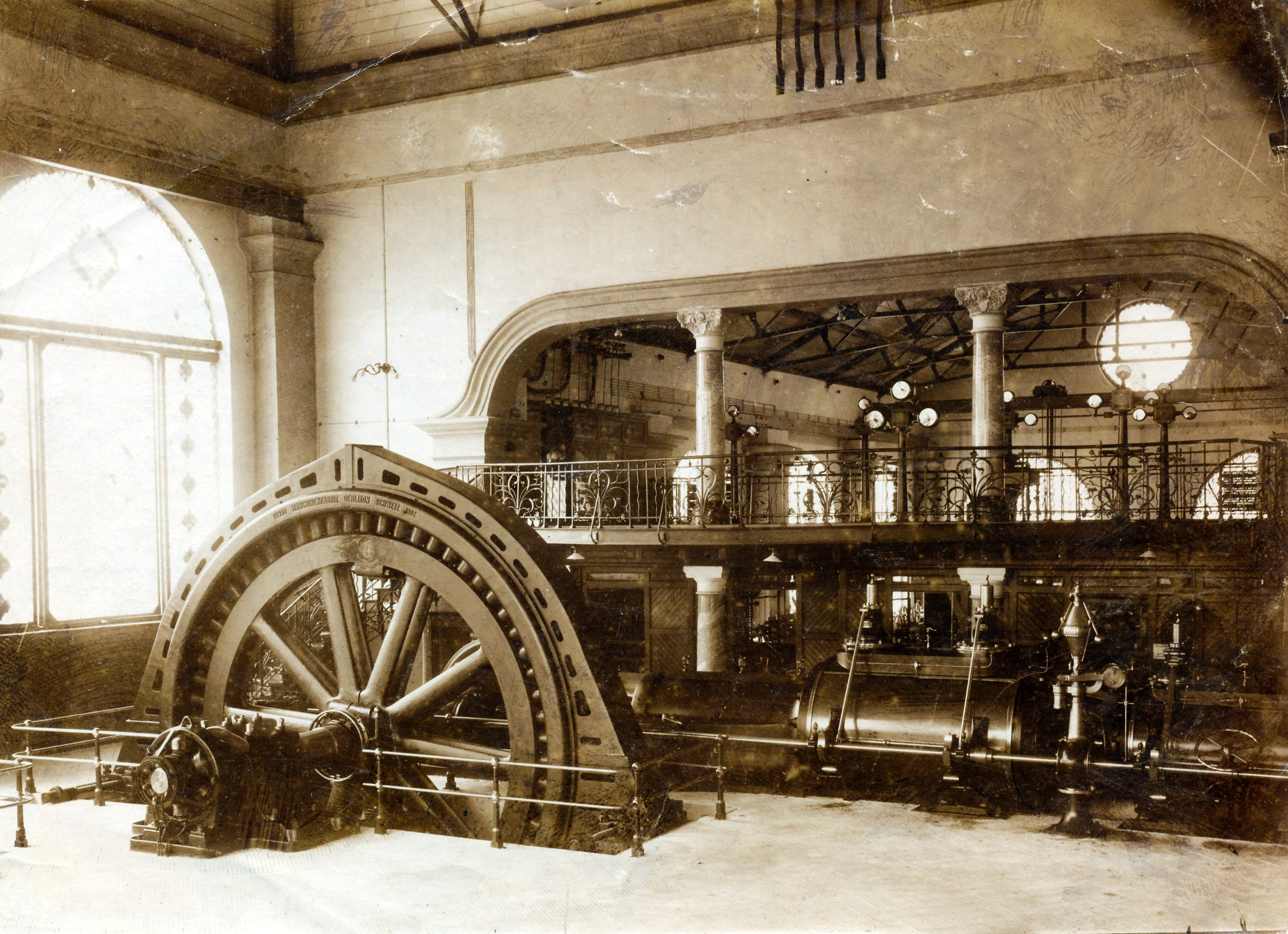 Stromgenerator Neckarwerke